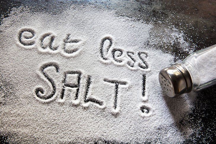 how many calories in salt