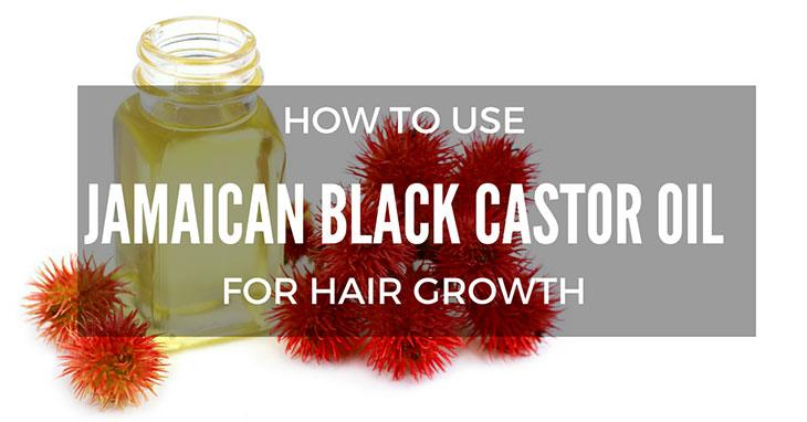 how to use jamaican black castor oil for hair growth