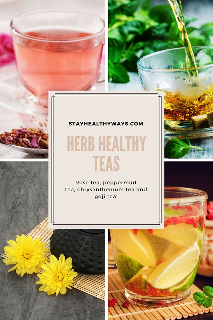 top 6 healthy teas