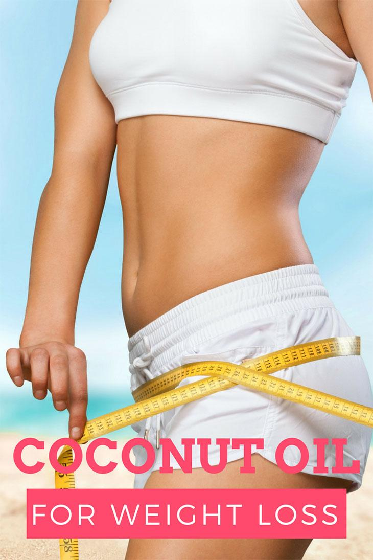is coconut oil good for weight loss