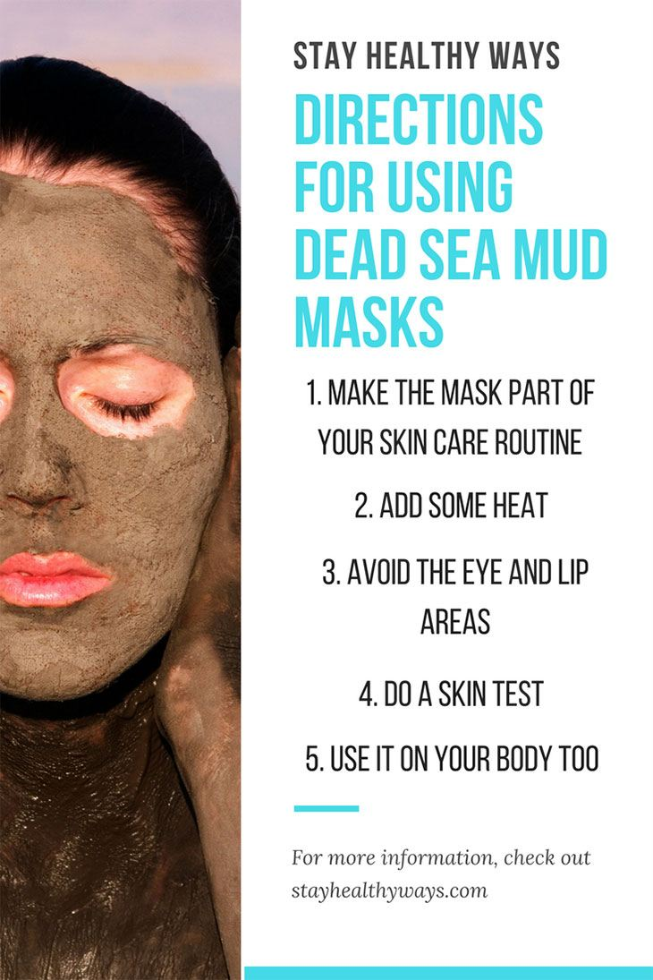 dead sea mud mask directions