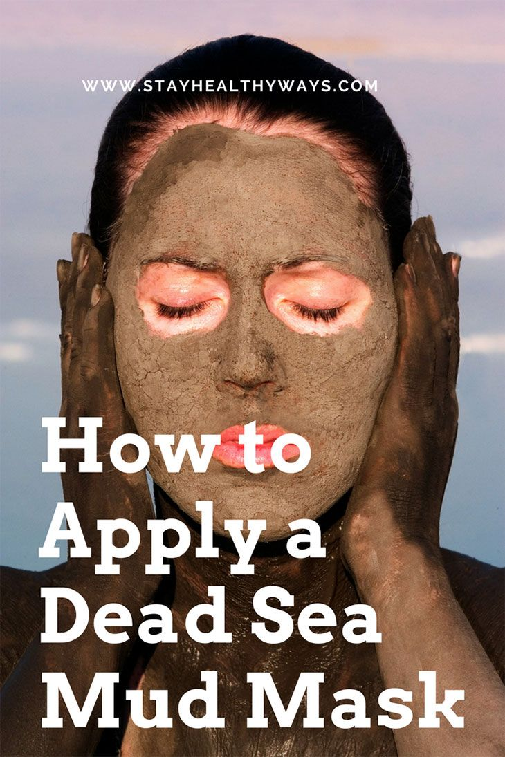 how to apply dead sea mud mask directions