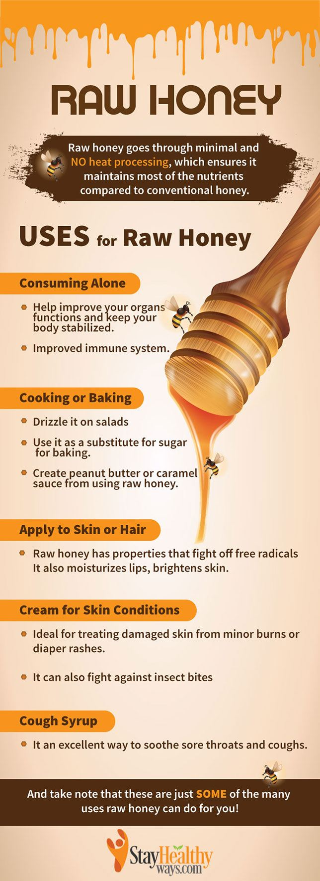 best raw honey infographic