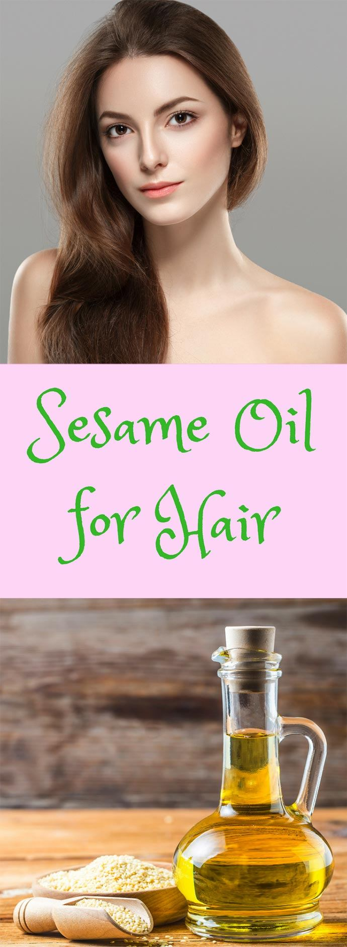 homemade sesame oil for hair