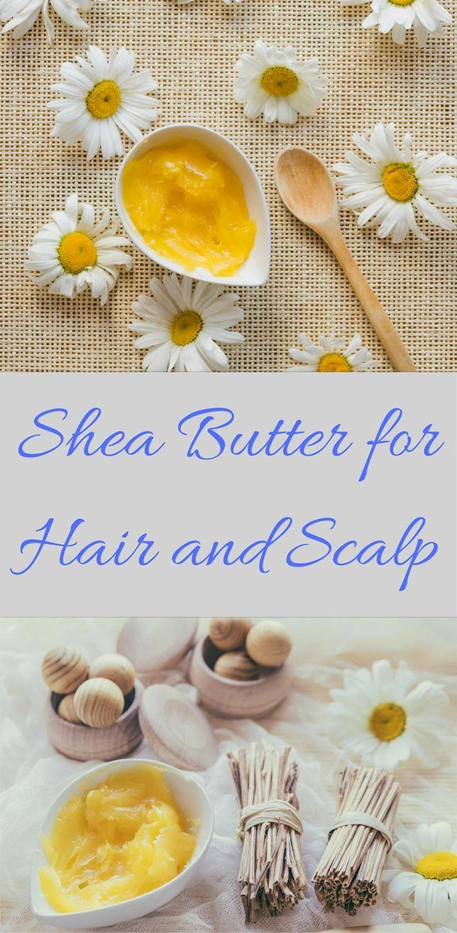 shea butter homemade hair treatment